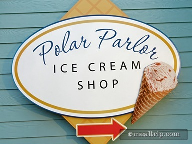A review for Polar Parlor Ice Cream Shop