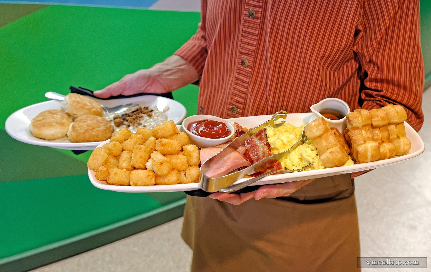 the garden grill breakfast family platter for two people there is also a one - Garden Grill