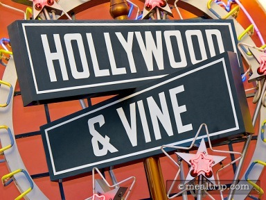 Hollywood & Vine - Character Breakfast Buffet