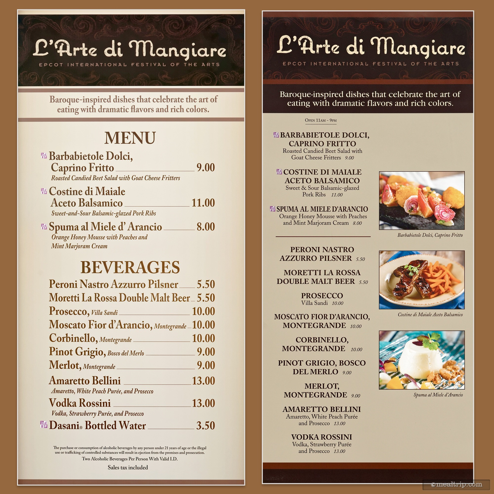 Food Booth Menu Boards And Prices For 2019