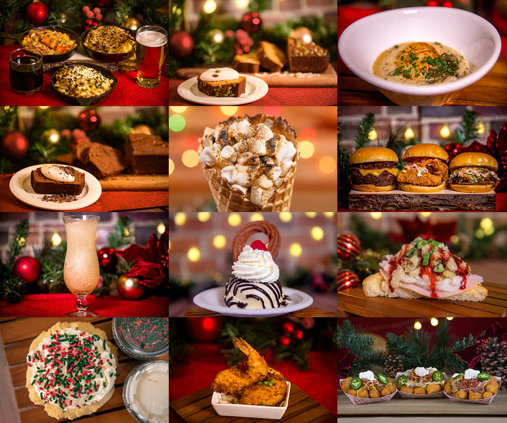 Food & Beverage Items for the 2020 Christmas Celebration at
