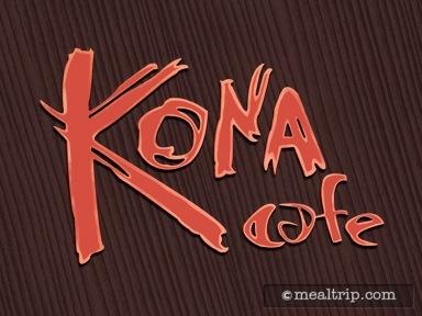 Kona Cafe Dinner