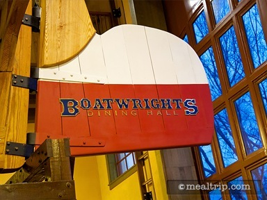 A review for Boatwright's Dining Hall