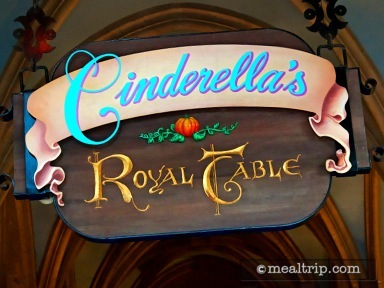 Cinderella's Royal Table (Lunch Period Merged with Dinner)