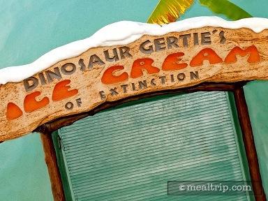 Dinosaur Gertie's Ice Cream
