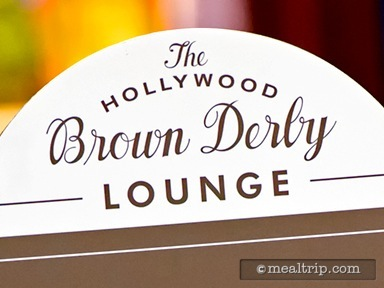 A review for The Hollywood Brown Derby Lounge