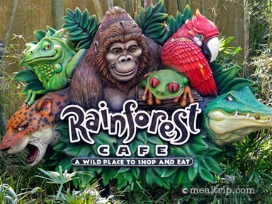 Rainforest Café at Disney's Animal Kingdom Breakfast