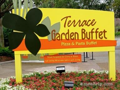 Terrace Garden Buffet