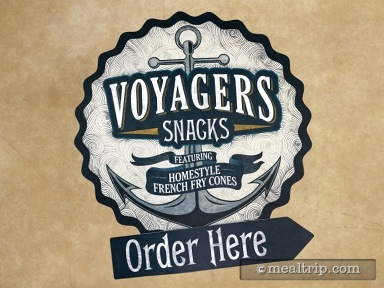 A review for Voyagers Snacks