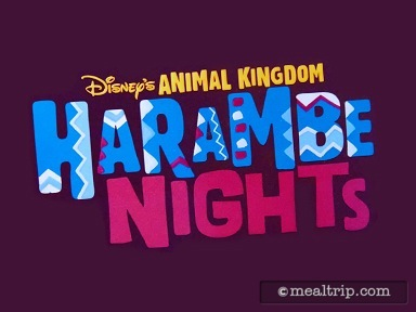 A review for Harambe Nights at Animal Kingdom - Special Event