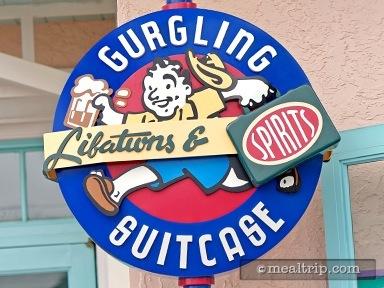 Gurgling Suitcase Libations & Spirits