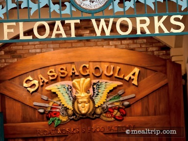 Sassagoula Floatworks and Food Factory Breakfast