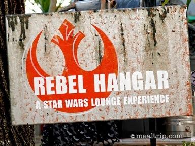 Rebel Hangar - A Star Wars Lounge Experience