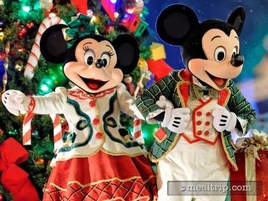 Minnie's Holiday Dine at Hollywood and Vine