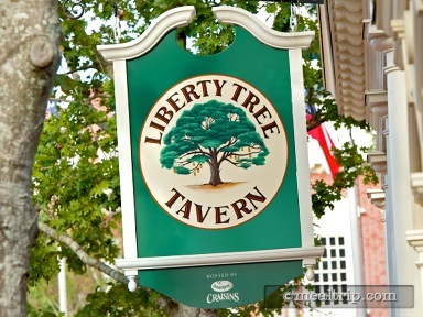 A review for Liberty Tree Tavern (Lunch Period Merged with Dinner)