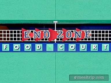 End Zone Food Court - Lunch and Dinner