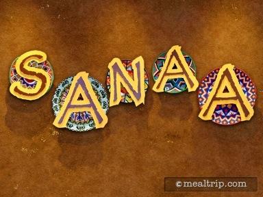 Sanaa - Dinner