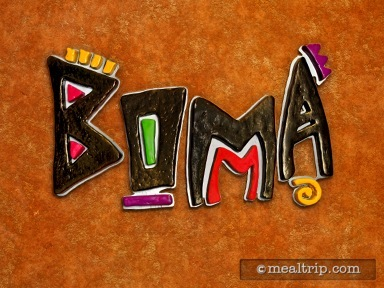 Boma - Flavors of Africa - Dinner