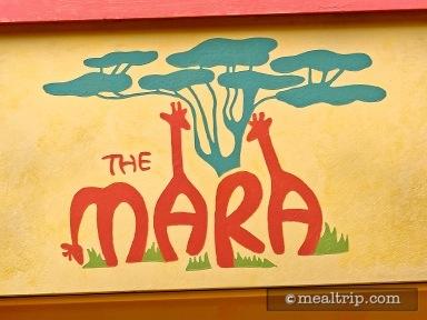 The Mara - Breakfast