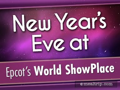 A review for New Year's Eve at Epcot World ShowPlace
