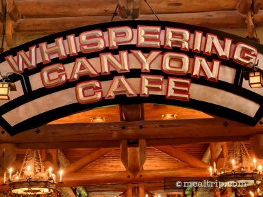 Whispering Canyon Café Dinner