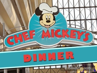 Chef Mickey's Dinner