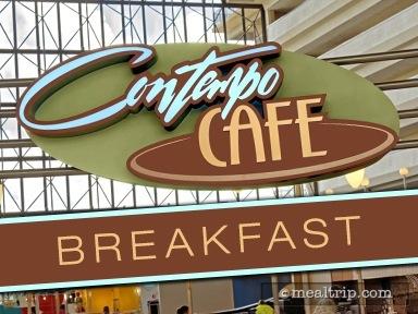 Contempo Café Breakfast