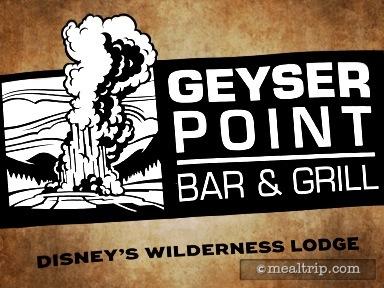 Geyser Point Bar & Grill Lounge