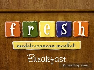 Fresh Mediterranean Market Breakfast