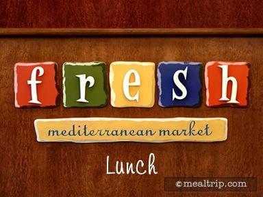 Fresh Mediterranean Market Lunch