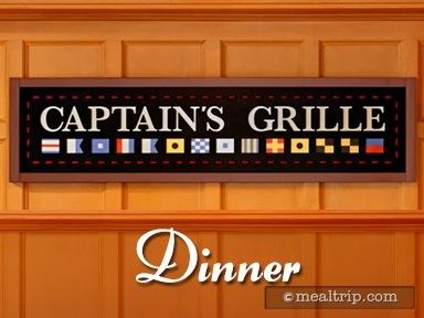 Captain's Grille Dinner