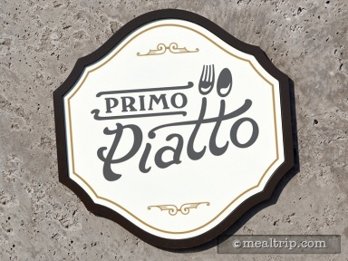A review for Primo Piatto Lunch and Dinner