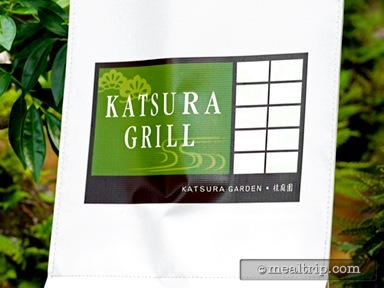 A review for Katsura Grill