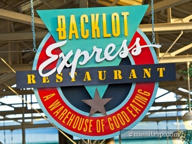 A review for Backlot Express