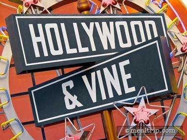 Hollywood & Vine - Character Breakfast Buffet